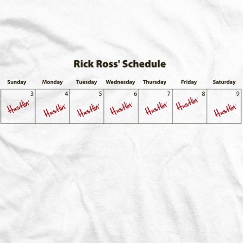 Ross Schedule