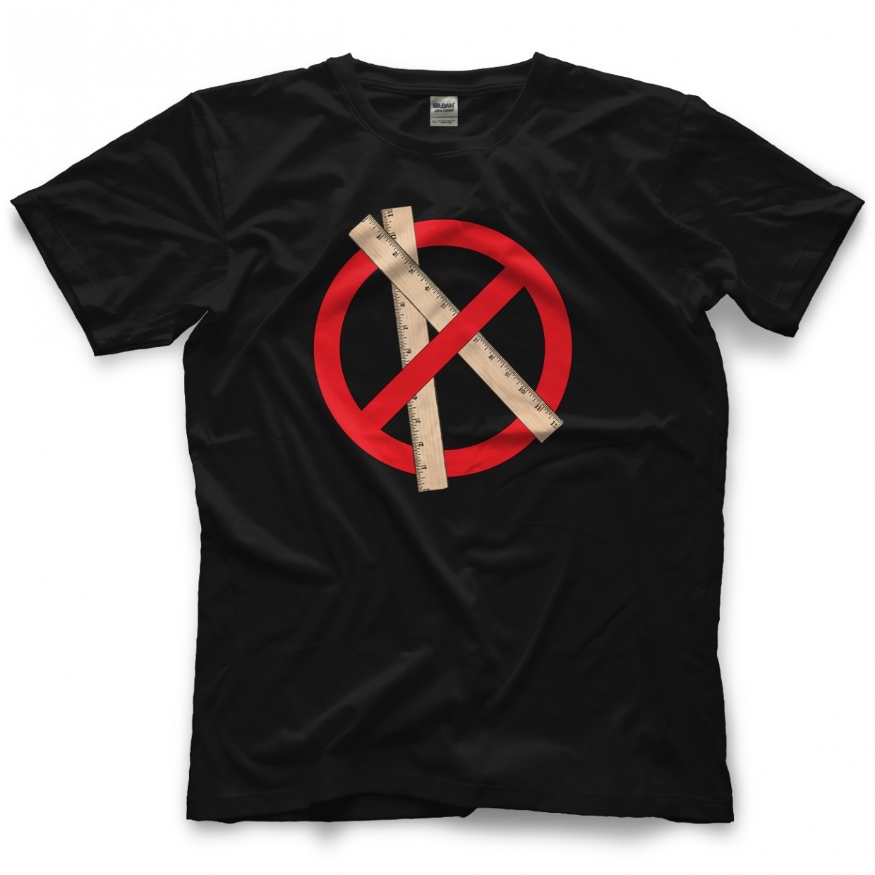 Incite Tees No Rulers Black T-shirt
