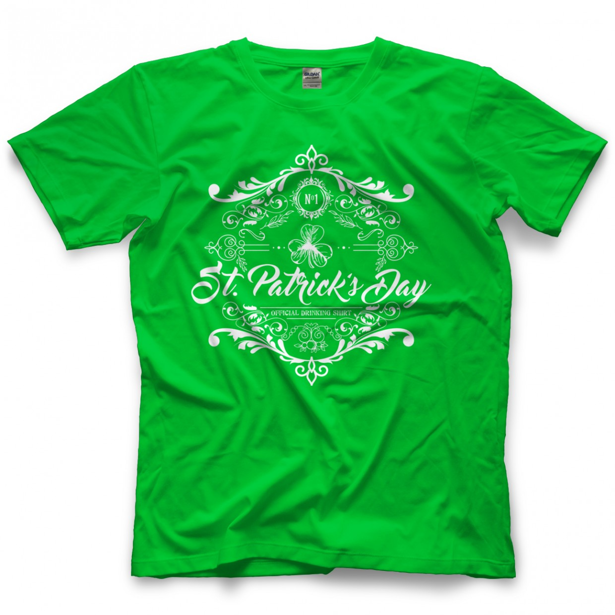 It's Time to Drink St. Patrick's Drinking Shirt - White T-shirt