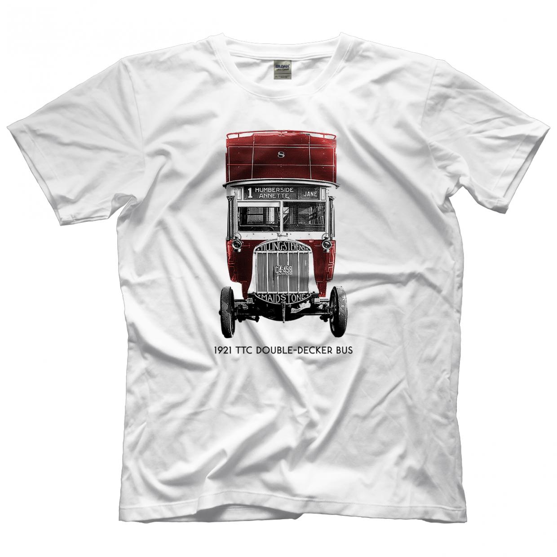 1921 TTC Double-Decker Bus T-shirt