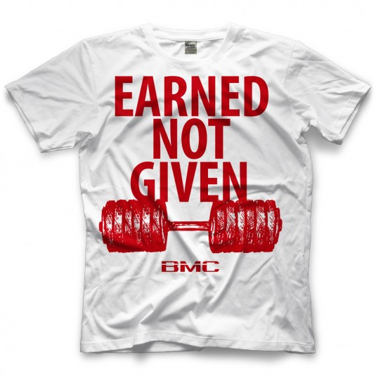 Earned Not Given White