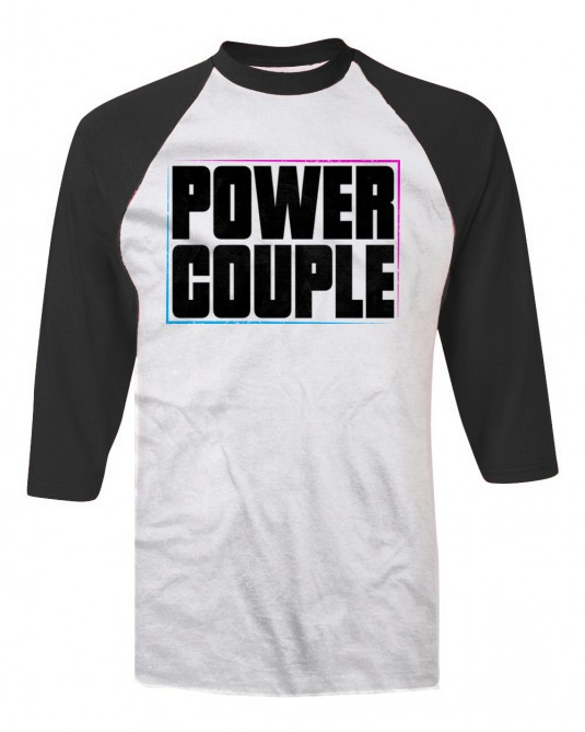 Jacky & Stephen Power Couple Limited T-shirt