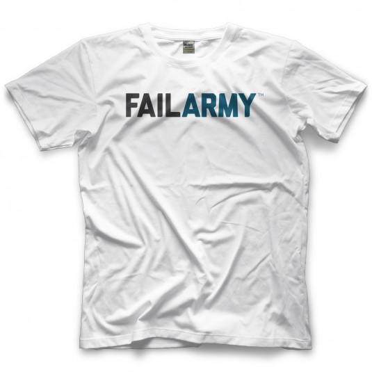 Fail Army White T-shirt