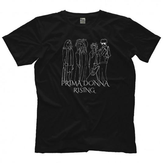 Prima Donna Rising Line Drawing Vintage