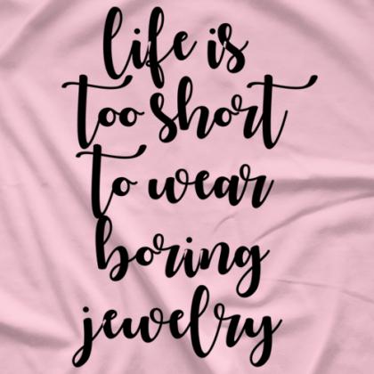 Facet T Boring Jewelry T-shirt