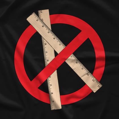 Incite Tees No Rulers Black T-shirt