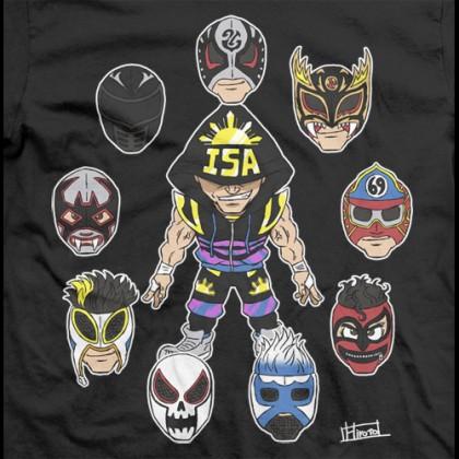 LPC Illustrated - TJP: One Man, Many Masks