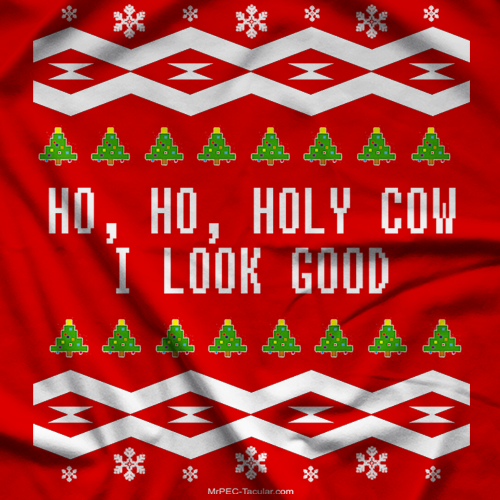 Ho Ho Holy Cow