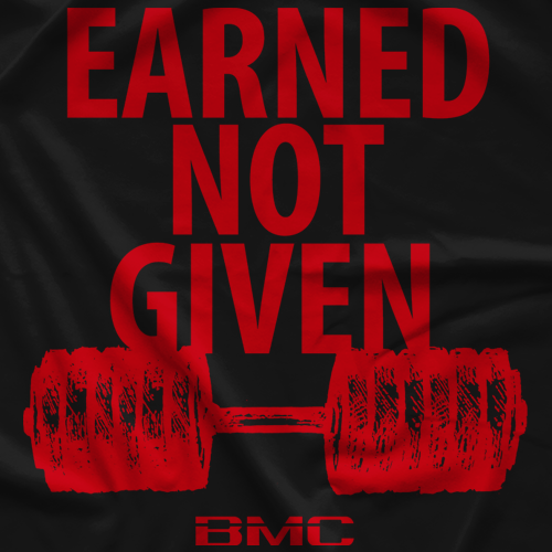 Earned Not Given Black