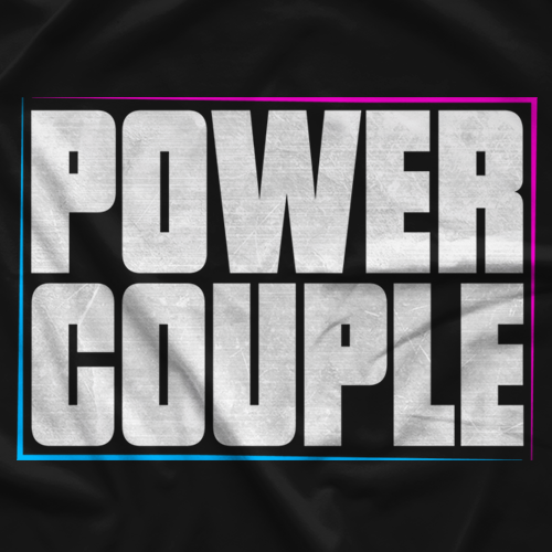 Jacky & Stephen Power Couple T-shirt