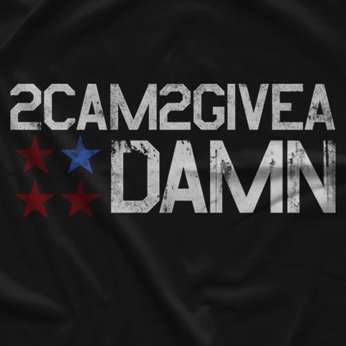 Cam Zagami 2Cam2GiveADamn T-shirt