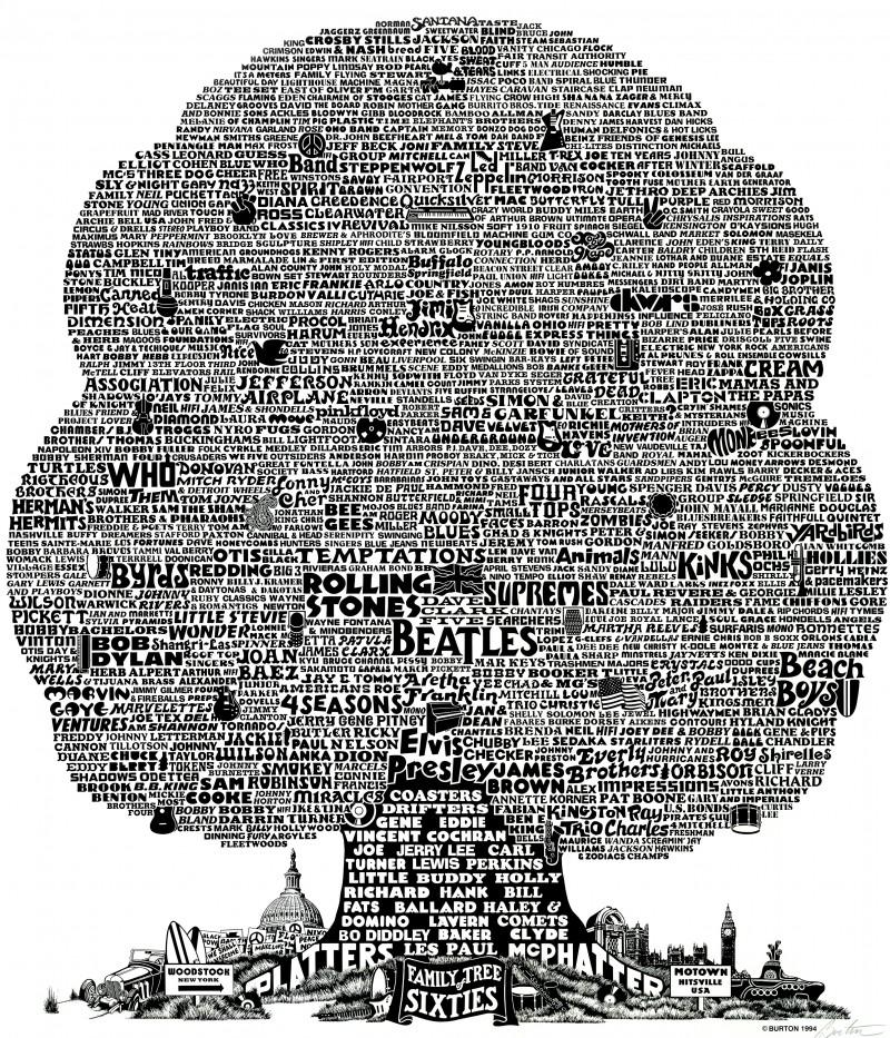 1960's Music Tree