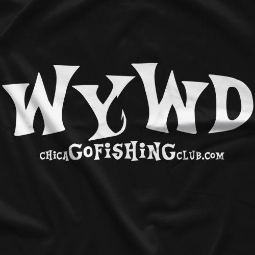 Chicago Fishing Club Original WYWD Dark T-shirt