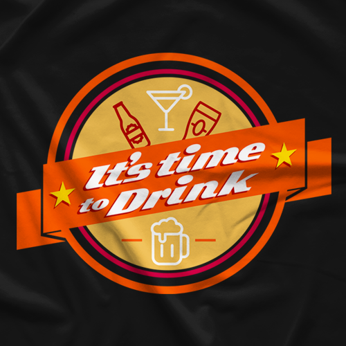 It's Time to Drink - Orange