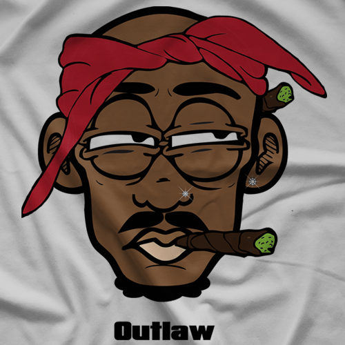 Kush Kid Collectiblez Outlaw T-shirt