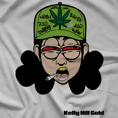 Kush Kid Collectiblez Kelly Hill Gold T-shirt