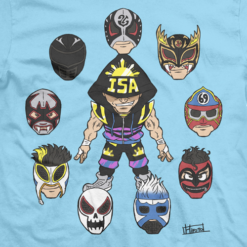 LPC Illustrated - TJP: One Man, Many Masks Light