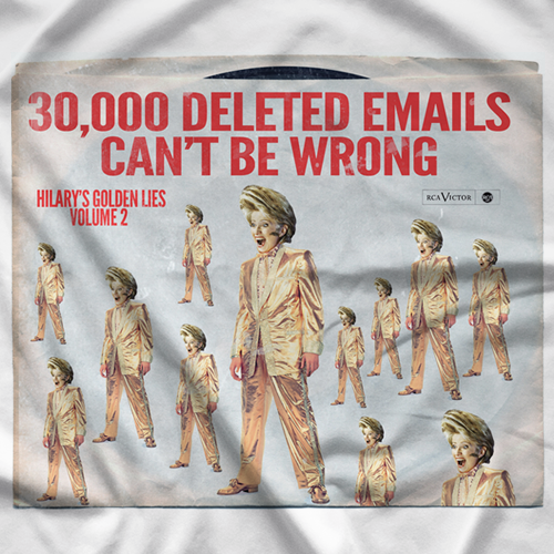 30,000 Deleted Emails T-shirt