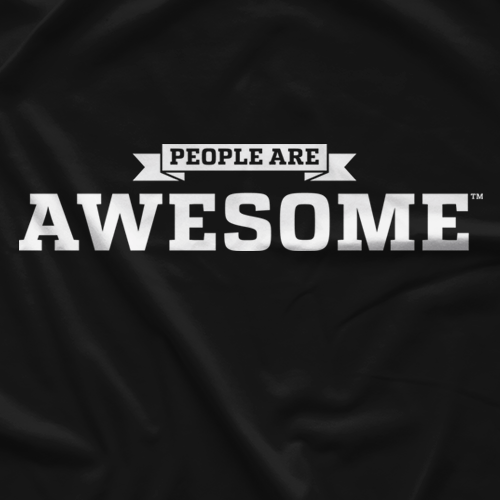 People Are Awesome Black T-shirt