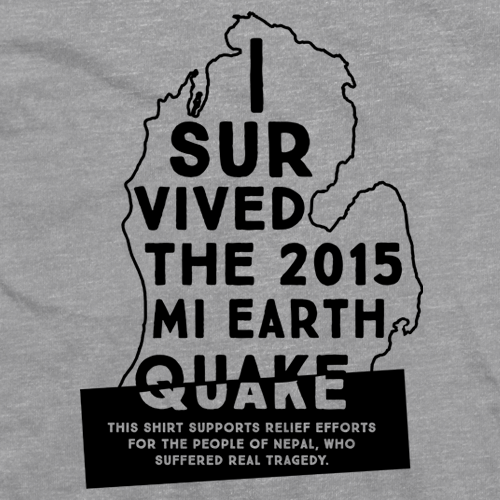 2015 MI Earth Quake