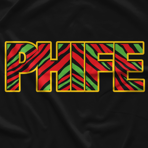 Turntable Troopers Phife Black T-shirt