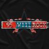 95 Will Rock Flag T-shirt