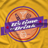It's Time to Drink - Purple T-shirt