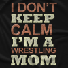 Schnazzy TEEs Wrestler's Mom! T-shirt