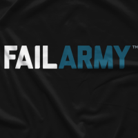 Fail Army Black T-shirt