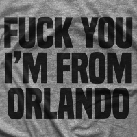 I'm From Orlando T-shirt