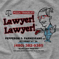 Pod Awful Pizza Lawyer T-shirt