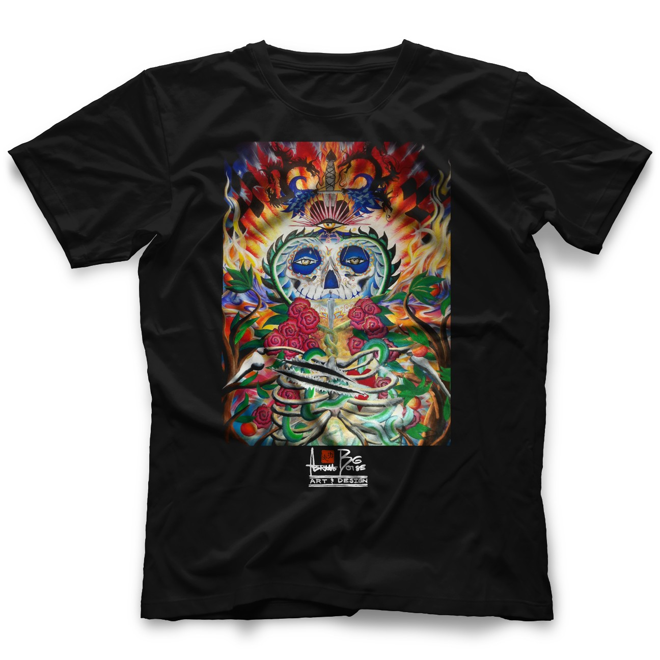 Abram boise life t shirt for Boise t shirt printing