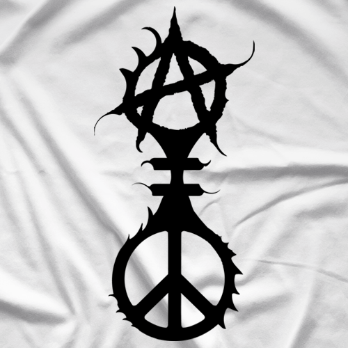 Incite Tees Anarchy Peace T Shirt