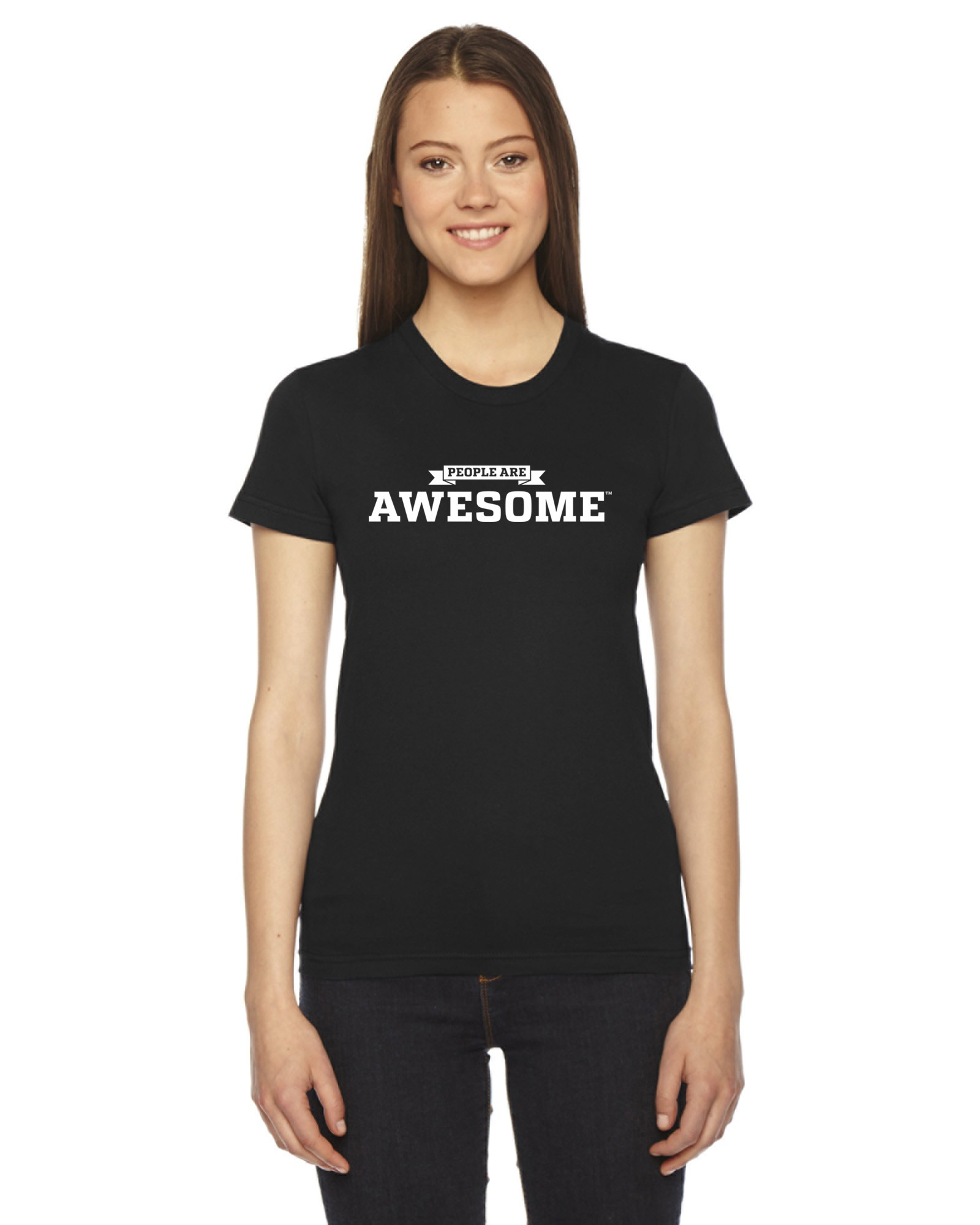 People Are Awesome Black T Shirt