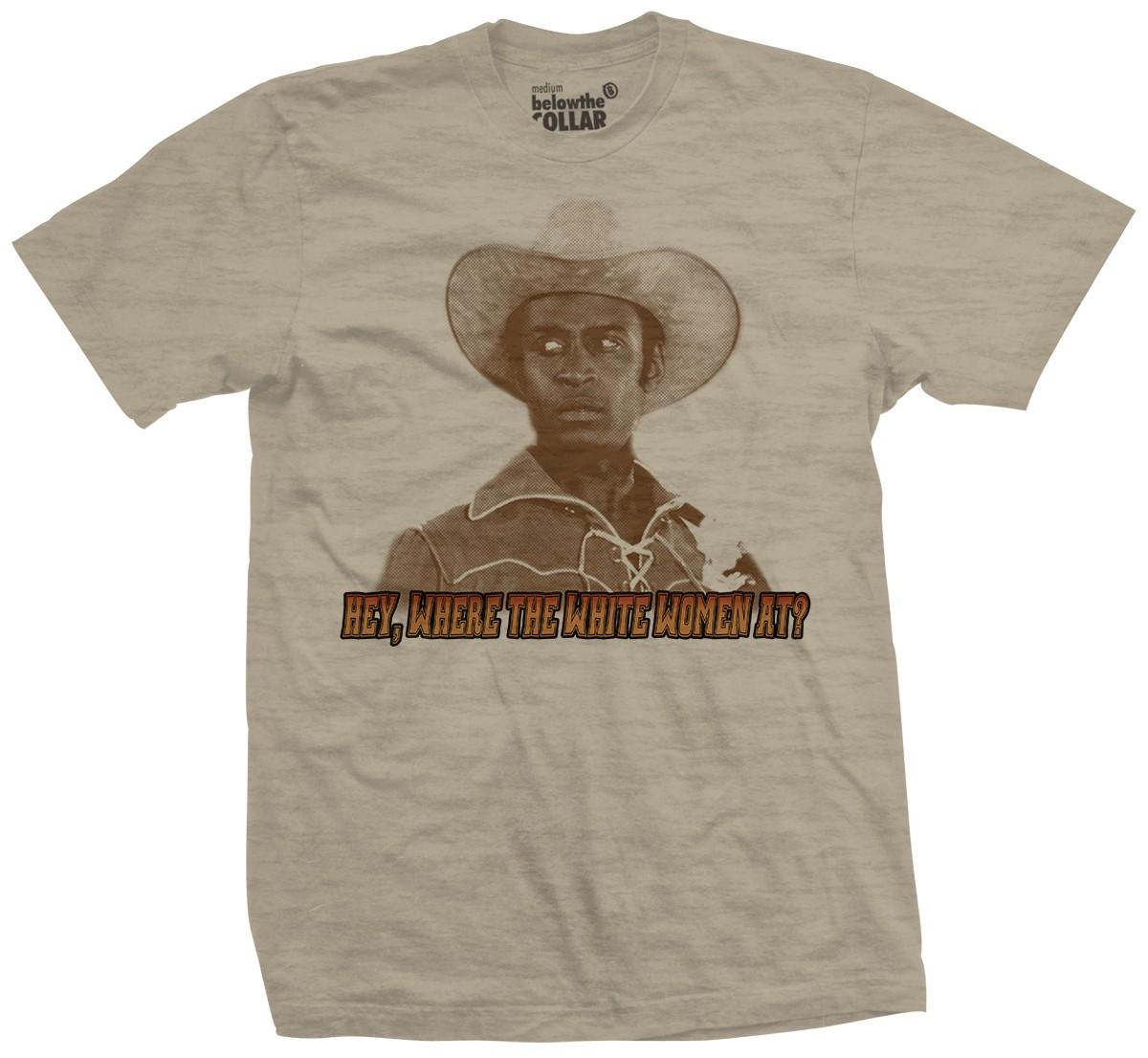 Sheriff Bart Blazing Saddles T-Shirt - belowtheCollar.com
