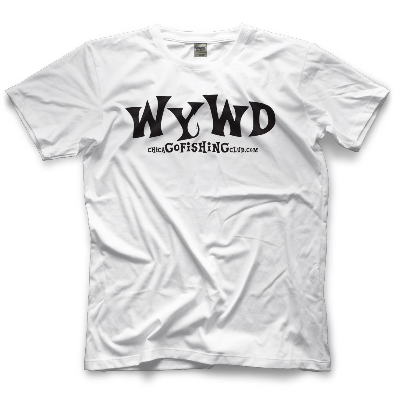 Chicago Fishing Club Original WYWD Light T-shirt