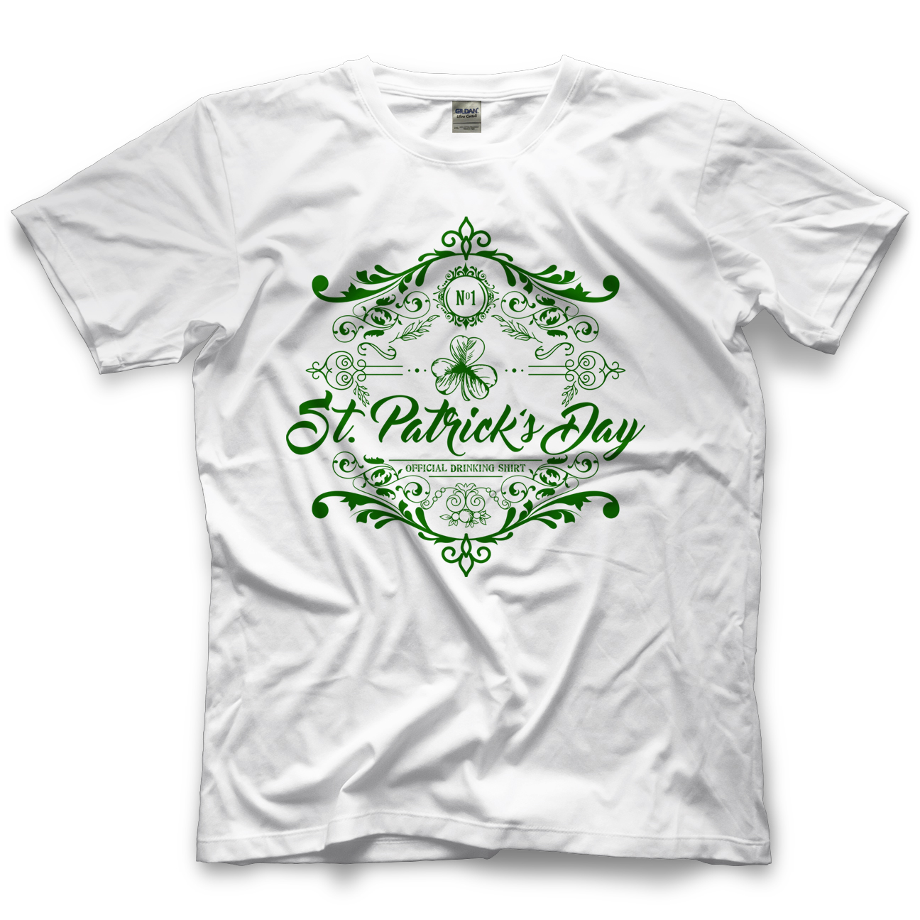 It's Time to Drink St. Patrick's Drinking Shirt - Green T-shirt